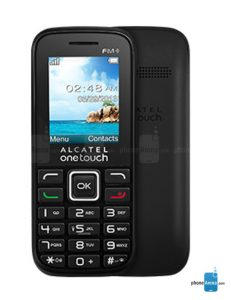 ALCATEL ONETOUCH 1050D feature phone