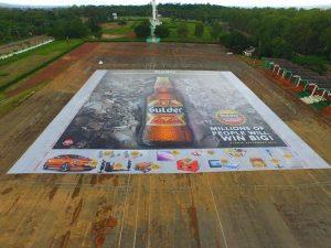 Gulder biggest world poster