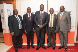 From left: OAAN President, Tunde Adedoyin; Okeme; Olaniyan; Koledoye; and Ufot at the event in Lagos.