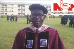 Dr. Oladele...President NIPR