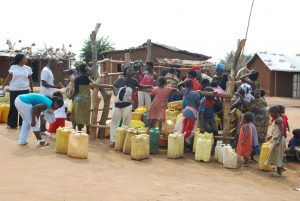 Rural dwellers in search of safe drinking water