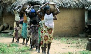 rural dwellers in need of safe drinking water