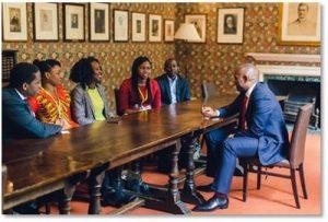 The Tony Elumelu Foundation Hosts Intimate Q & A session for NLI Associates