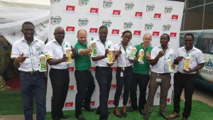 L-R: Akin Oyegun- Regional Brand Mgr Homecare, Bayo Obarotimi- Group Brand Dev &Act Mgr, Christos Giouras – Executive Director Brand Dev & Activation, Alex Goma- MD Family Care, Nigeria, Mina Georgewill – Brand Dev & Act Mgr, Morning Fresh, Jim Judson – Regional Marketing Director, Roy Ekekwe- Regional Head of Category Fabric & Homecare, Jimi Taiwo- Regional Homecare Director during the launch of Morning Fresh Kitchen Moakeover promo at the PZ HQ in Lagos