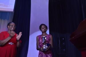 Roger Hatchuel Academy Gold Medal Winner with Academy Dean, Mowunmi Owodunn